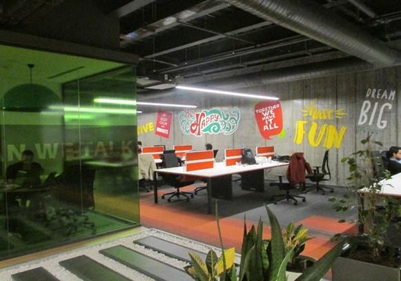 Наш инкубатор инноваций в Турции.