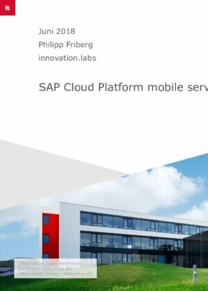 01. Einfache Schritte zur nativen App mit SAP Cloud Platform mobile service for development