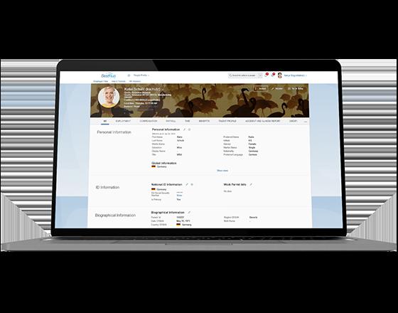 SAP SuccessFactors Screen