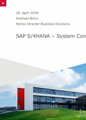 Von SAP ERP zu SAP S/4HANA – Die verschiedenen Wege und was Sie heute tun müssen