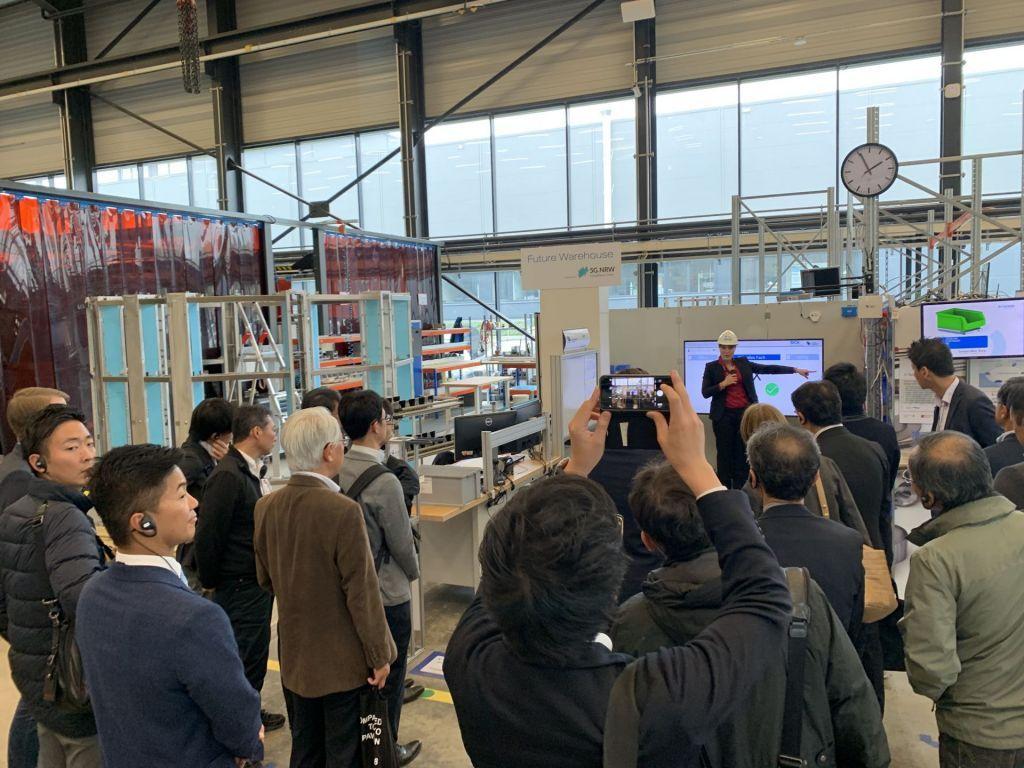 Japanische Industrie- und Handelskammer bei itelligence Executive Tour