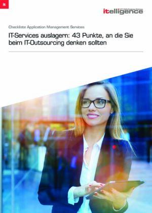Checkliste: 43 Fakten, die Sie beim IT-Outsourcing beachten sollten