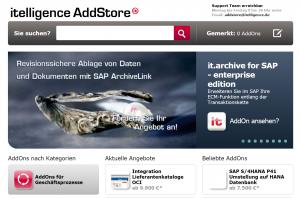 SAP-Addstore