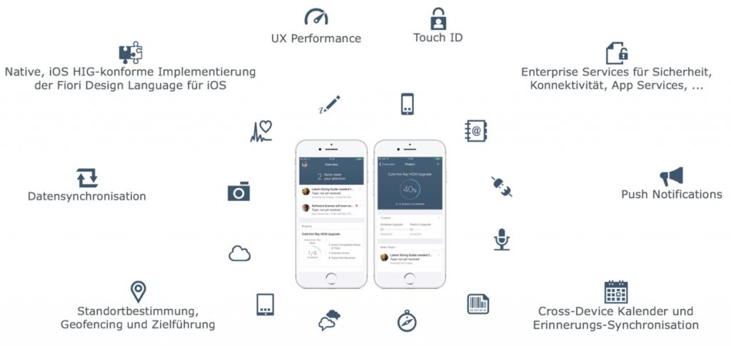 Apple und SAP - Mit dem iOS SDK direkt nutzbare Funktionen