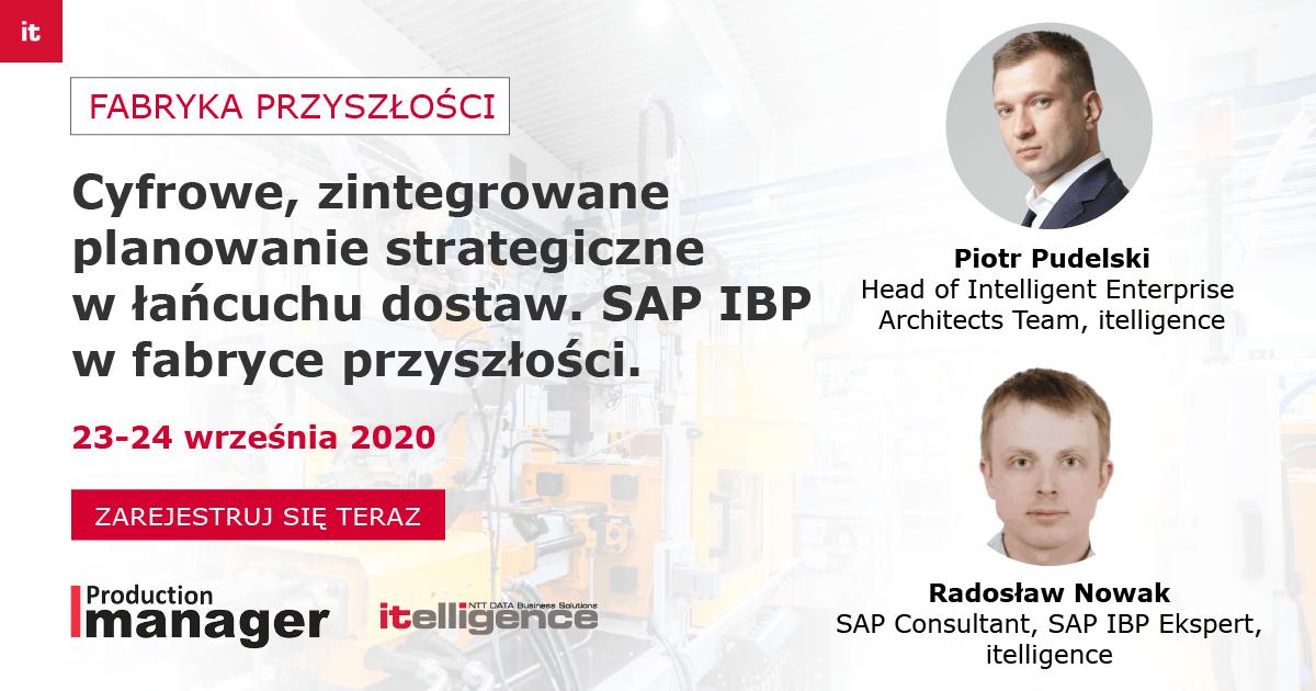 Fabryka Przyszłości SAP IBP