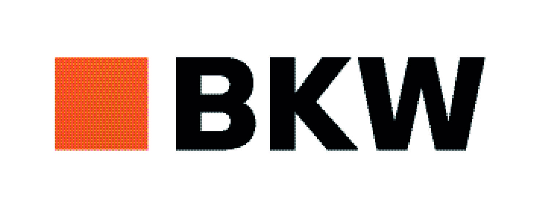 BKW Logo mit weissen Rand