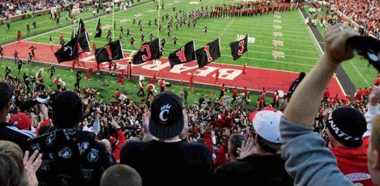 University of Cincinnati Football Field