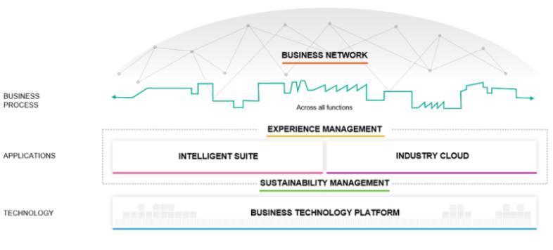 SAP Intelligent Enterprise Framework (Source: SAP)