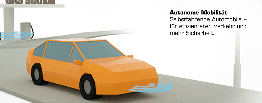 Grafik Technologietrend 4: Autonome Mobilität