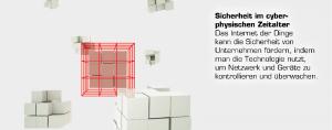 Grafik Technologietrend 7: Sicherheit im cyberphysischen Zeitalter