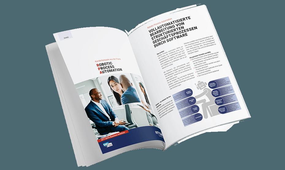 E-Book RPA mit Kundenbeispielen aus der Praxis