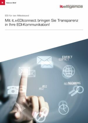 Broschüre - it.x-EDIconnect