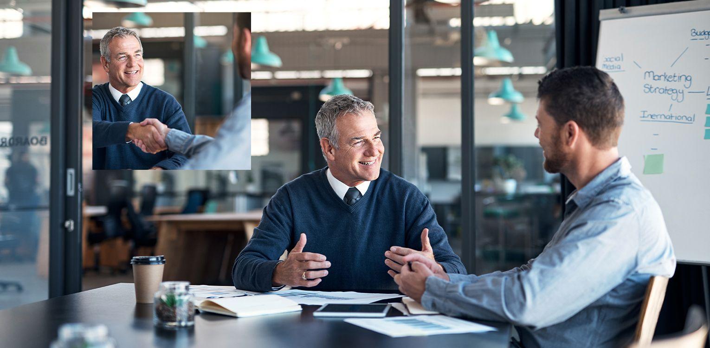 Business Partnership Consultancy Handshake