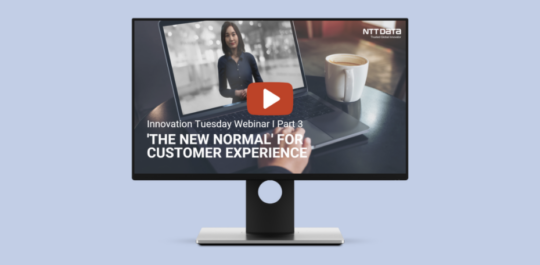 Webinar about customer experience and digital humans.