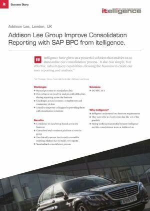 Case_Study_Addison Lee SAP BPC Consolidation
