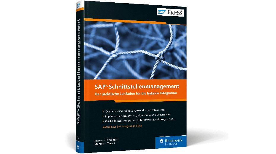 Buchcover SAP-Schnittstellenmanagement Rheinwerk Verlag