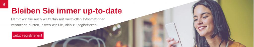 Banner - Datenschutz-Grundverordnung (DSGVO) s