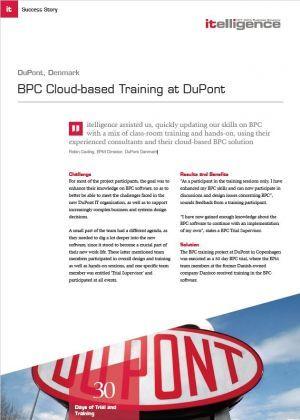 DuPont Cloud Training