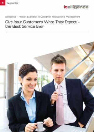 Dajte svojim zákazníkom to, čo očakávajú - ten najlepší možný servis