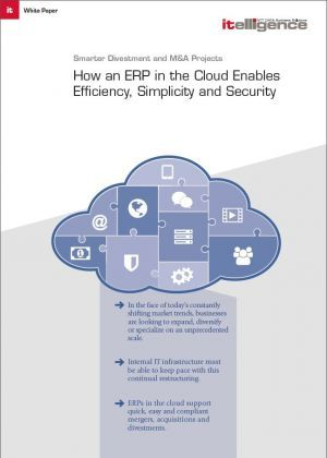Smarter Divestment and M&A Projects - How an ERP in the Cloud Enables Efficiency, Simplicity and Security