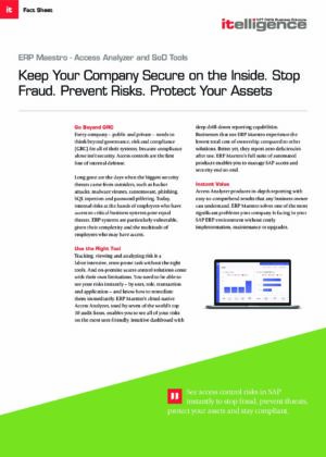 Keep Your Company Secure in the Inside. Stop Fraud. Prevent Risk. Protect Your Assets.
