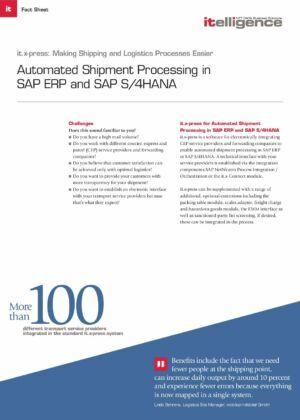 ¿Necesita urgentemente una solución para automatizar sus procesos de envío?