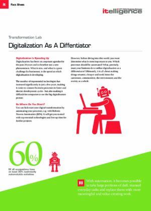 Digitalization as a Differentiator