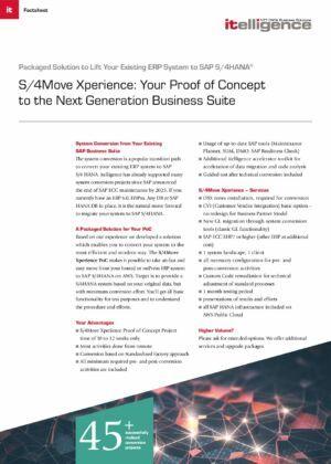 S/4Move Xperience en AWS