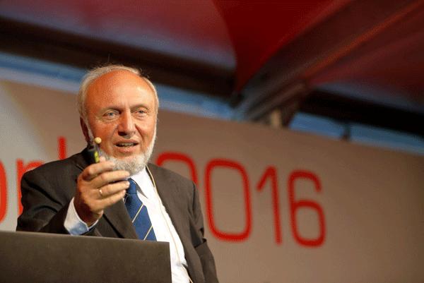 Hans Werner Sinn Vortrag itelligence World 2016