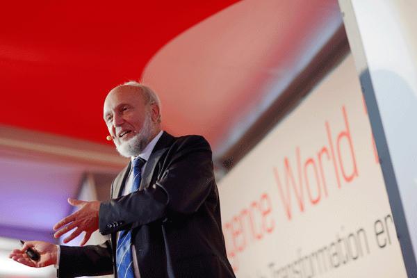 Vortrag Hans Werner Sinn auf der itelligence World 2016