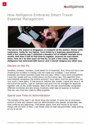 How NTT DATA Embraces Smart Travel Expense Management