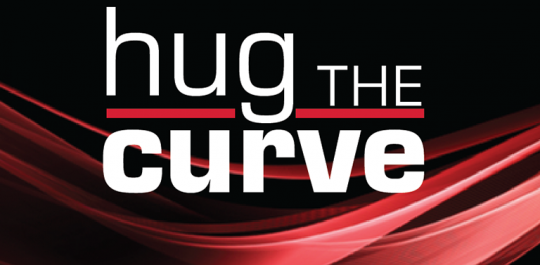 Hug the Curve podcast banner