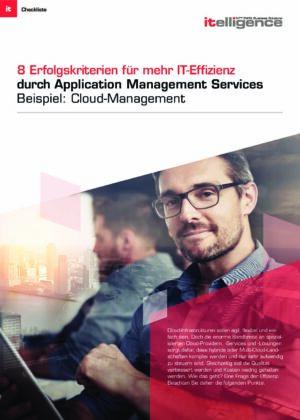 Checkliste: 8 Erfolgskriterien für mehr IT-Effizienz