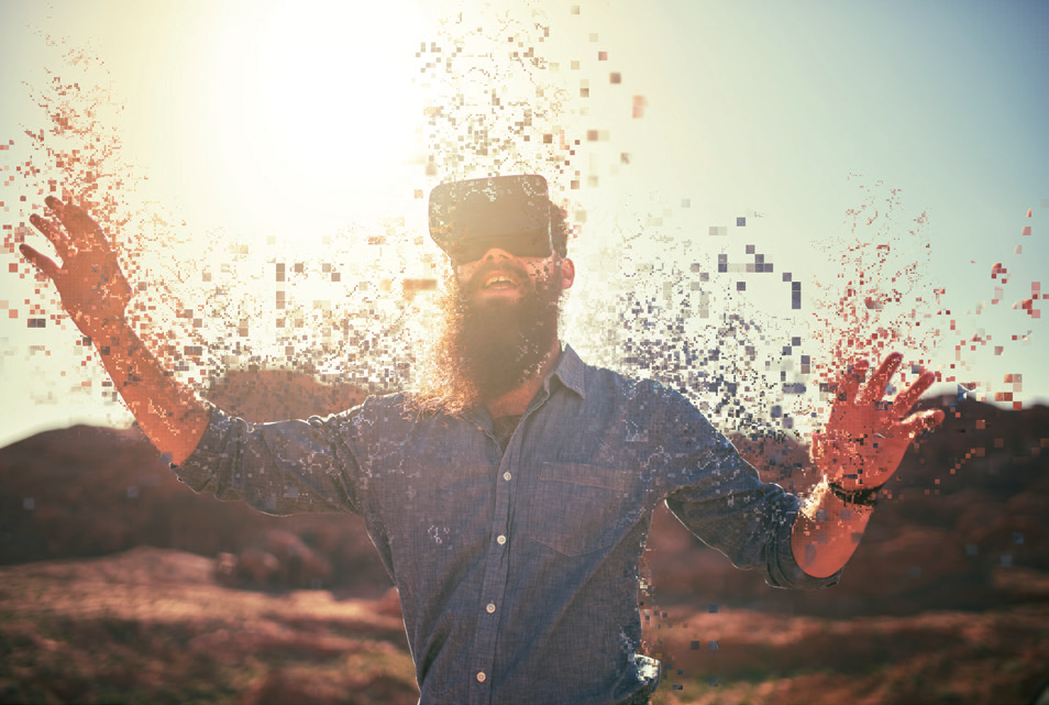 Learn more about how intuitive UI with virtual reality, enabling interaction with IT devices.