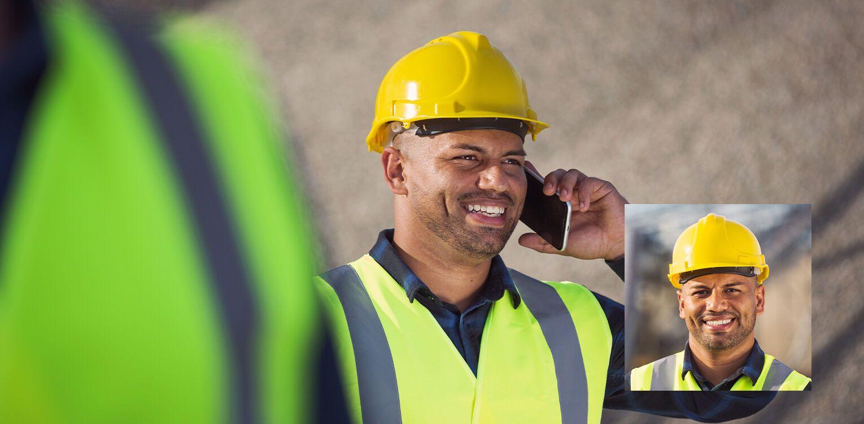 mining field worker