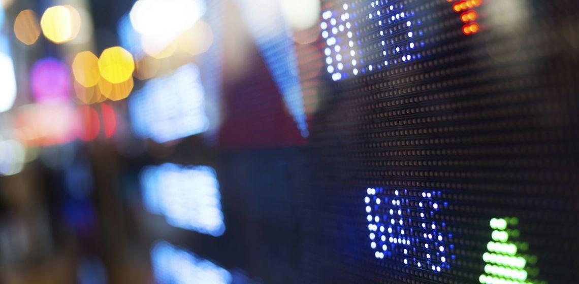 GLO-EN digital scoreboard