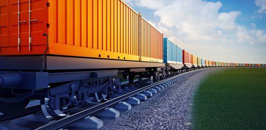 TTX rail cars