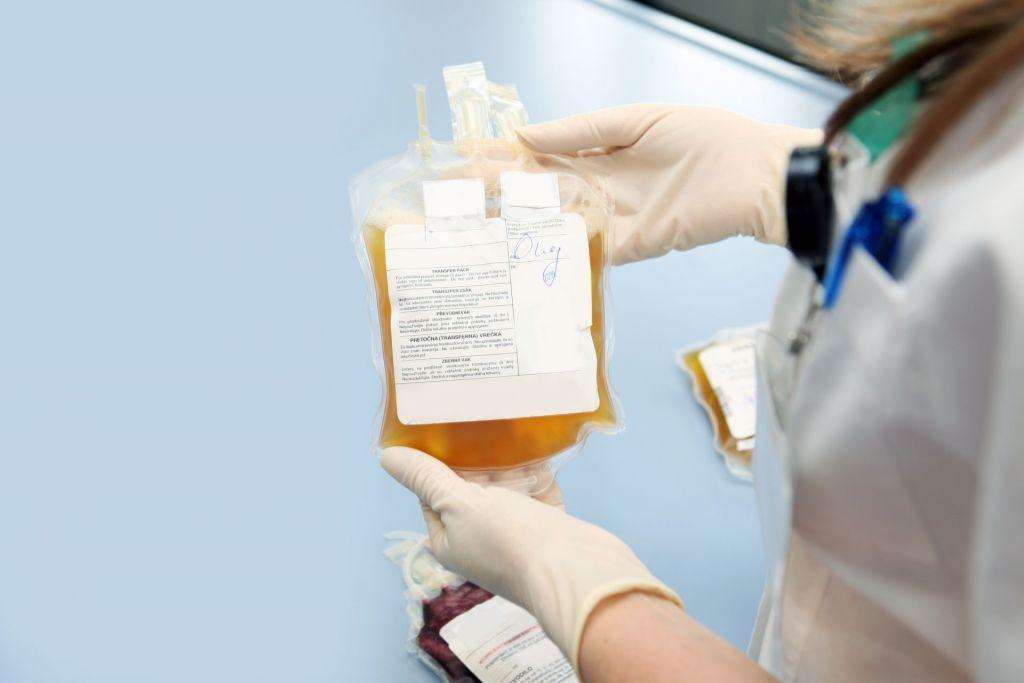 human blood plasma manufacturing industry