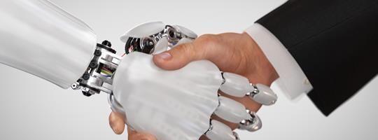 human and robot interaction