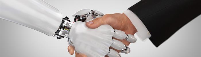 Robot and human interaction