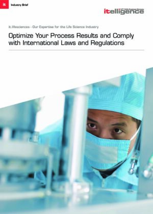 Die richtige Lösungsformel für Herausforderungen im Bereich Pharma?