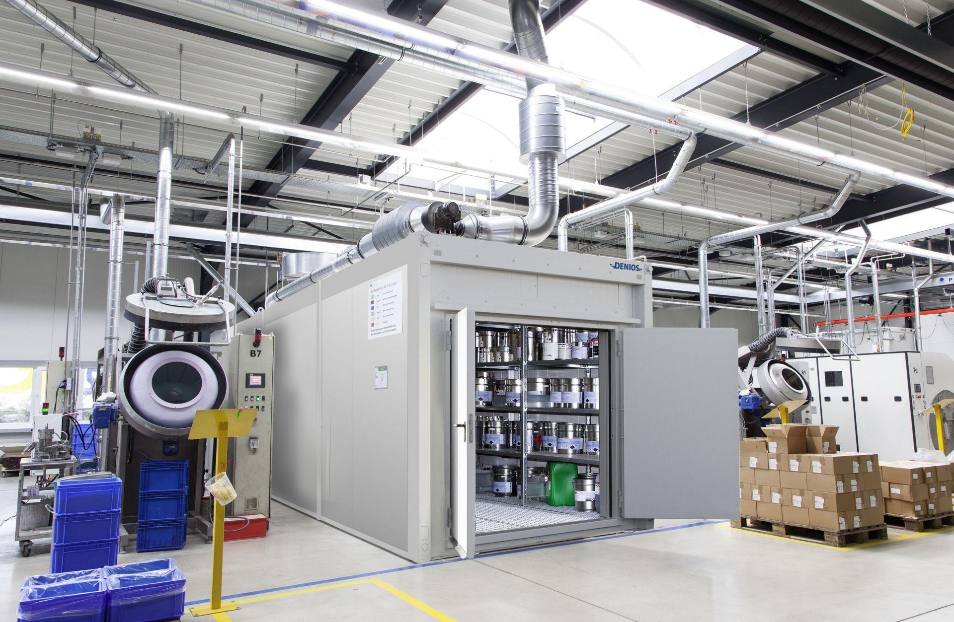Take a look in DENIOS factory building
