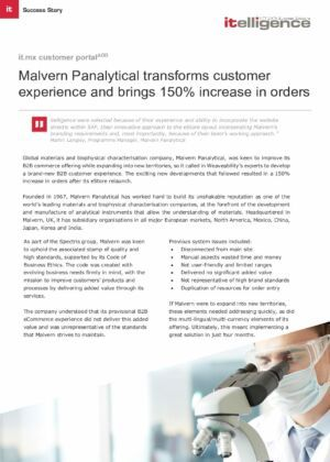 Malvern Panalytical_it.mx customer portal case study