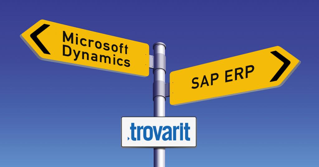 Microsoft Dynamics ERP und SAP ERP: Auswahlberater Trovarit blickt in die Zukunft