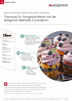 Reference Profile - Dawn Foods Germany GmbH