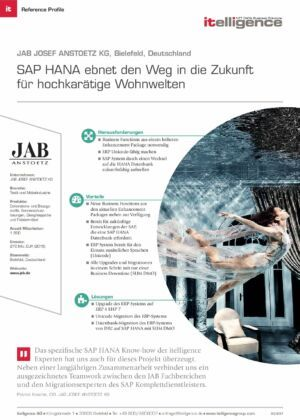 Reference Profile | JAB Josef Anstoetz KG