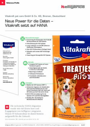 Reference Profile - Vitakraft pet care GmbH & Co. KG