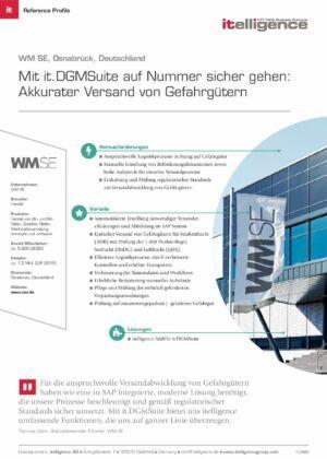 Reference Profile - WM SE - it.DGMSuite