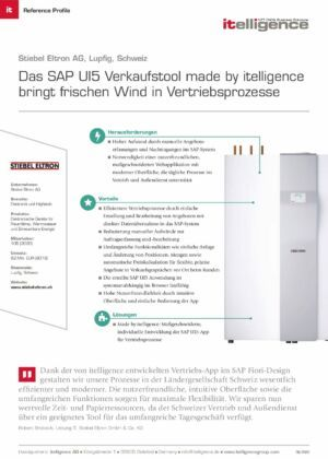 Reference Profile - STIEBEL ELTRON AG