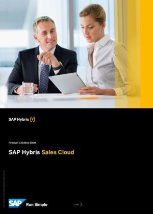 Zmeňte pravidlá hry so SAP Sales Cloud a postavte sa dnešným obchodným výzvam